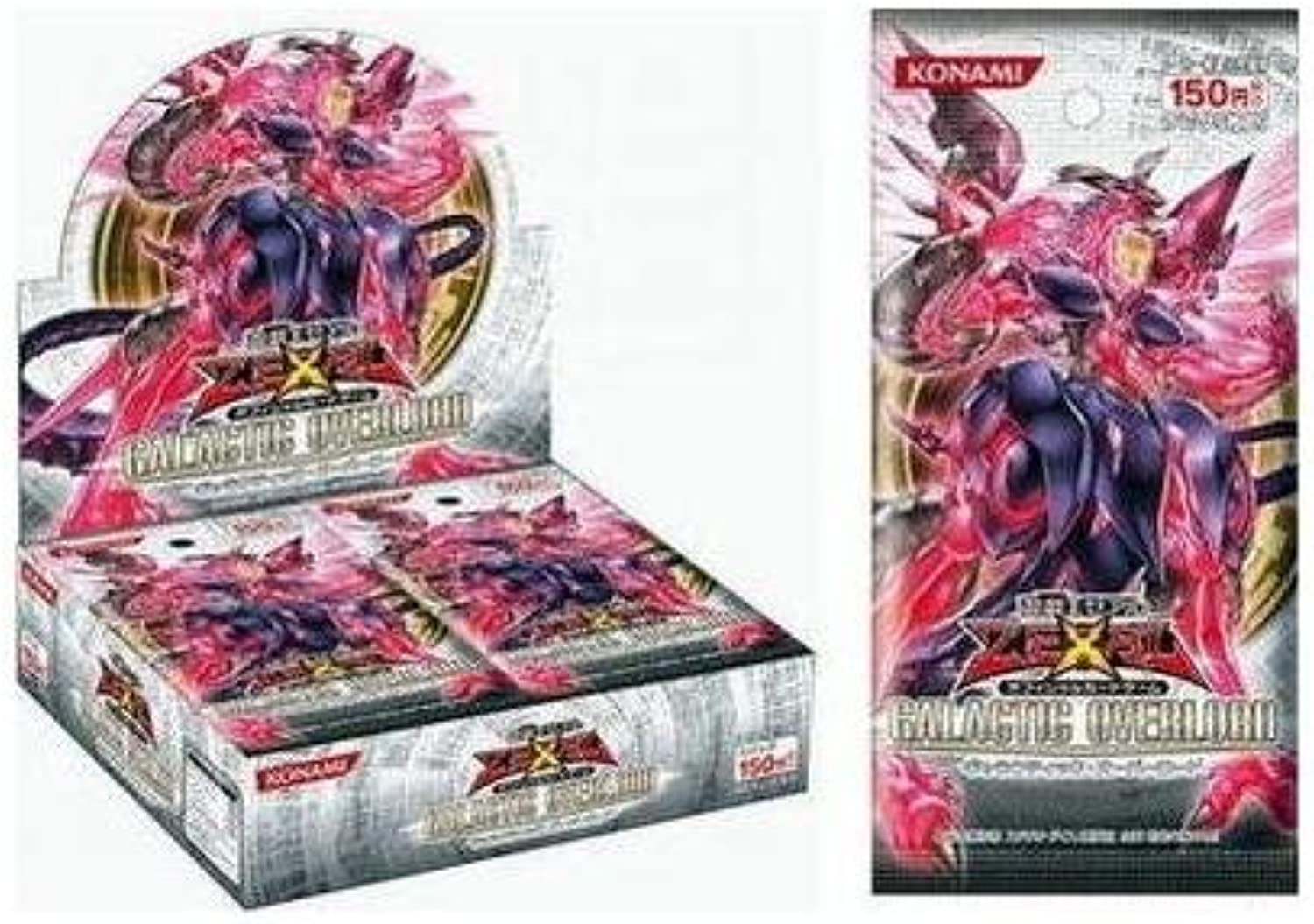 YuGiOh  ZEXAL OCG Galactic Overlord (30 packs) (japan import)