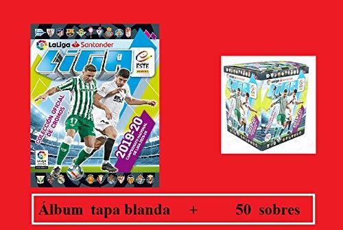 Album + Caja con 50 Sobres Liga Este 2019 2020 Panini