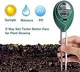 RUIZHI Soil Ph Meter for Soil Test Kit with pH Moisture Meter PrecisionTest