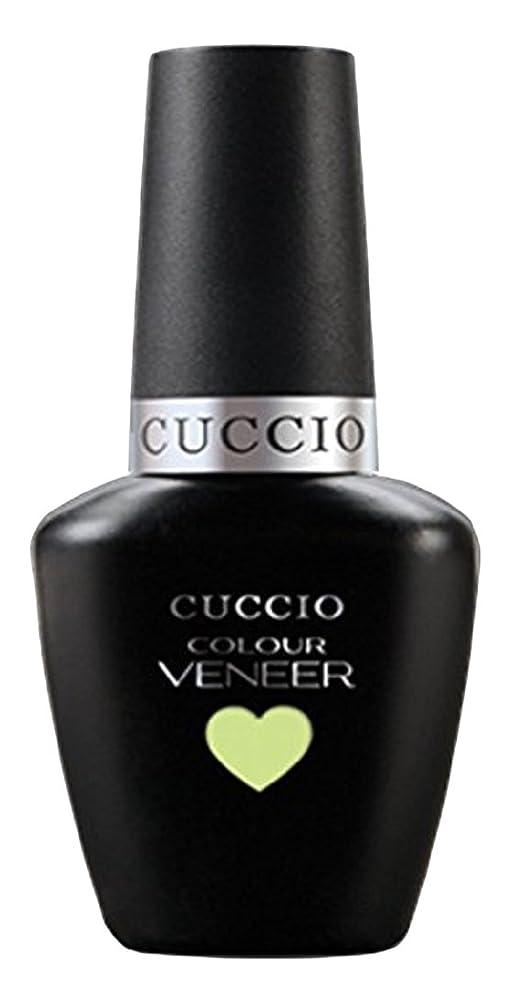 深く構造的額Cuccio Colour Veneer LED/UV Gel Polish - In the Key of Lime - 0.43oz / 13ml