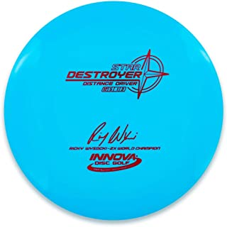 INNOVA Ricky Wysocki 2X Signature Stamp Star Destroyer Distance Driver Golf Disc [Colors May Vary]