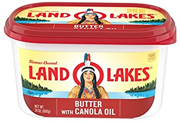 Land O' Lakes, Spreadable Butter with Canola Oil, 24 oz