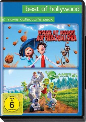 Wolkig mit Aussicht auf Fleischbällchen/Planet 51 - Best of Hollywood/2 Movie Collector's Pack