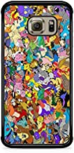 Coque pour Samsung Galaxy S10E Pokemon go Team Pokedex Pikachu Manga Tortank Game Boy Color Salameche Noctali Valor Mystic...