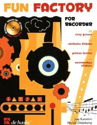 Fun Factory for Recorder, m. Audio-CD