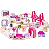 Product Image of the Bigjigs Wooden Fairy Town