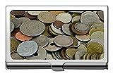 Portatarjetas de visita, Monedas en dólares Caja de identificación de tarjeta de crédito en efectivo/Portatarjetas/Estuche para tarjetas