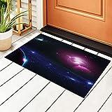 Colorido fondo nebulosa en el espacio alfombra de entrada...