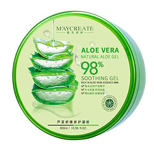 Childlike Aloe Vera Gel, 300ml Soothing Feuchtigkeitspflege Gel, Repariert Das Feuchtigkeitsspendende Aloe Vera Gel Nach Einem Sonnenbrand