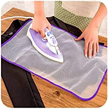 Home King 2PC Protective Press Mesh Ironing Cloth Guard Protect Delicate Garment Clothes/Protective Press Mesh Ironing Cloth Guard Protect Iron Delicate Clothes (Pack of 2)