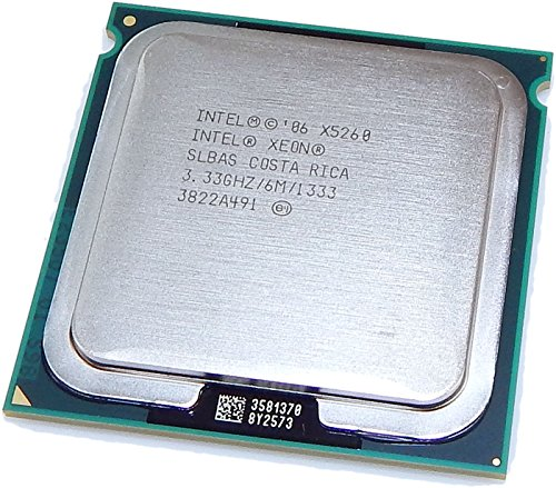 Intel Xeon X5260 333 GHz 6 MB LGA771 1333 CPU SLBAS