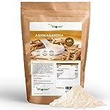 Ashwagandha Wurzel Pulver 600g - 100% echtes indisches Ashwagandha (Withania Somnifera) - Laborgeprüft - Indischer Ginseng - Premium Qualität - Vegan - Superfood