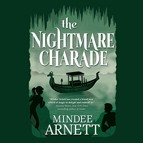 The Nightmare Charade audiobook cover art