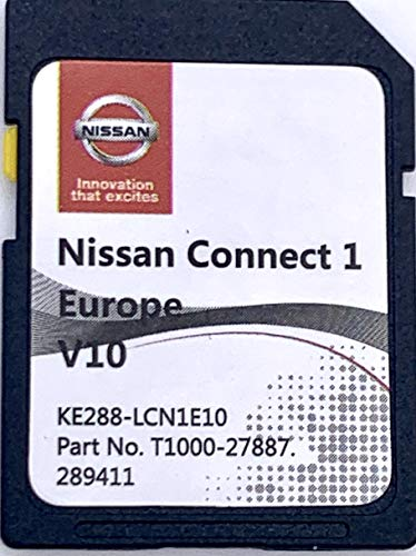 SD Karte GPS Nissan Connect 1 Europe V10
