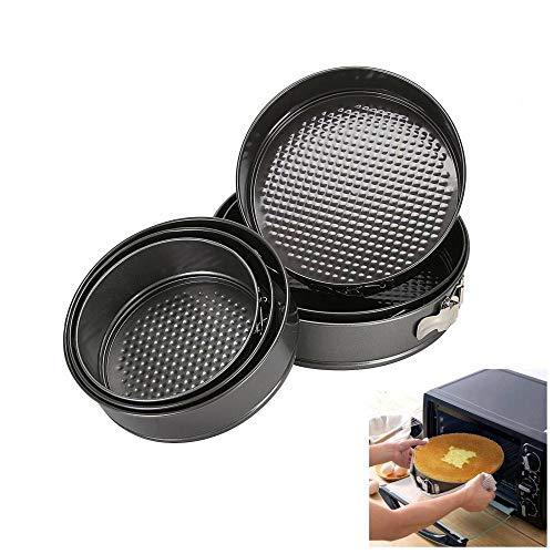 Kuchenform,Antihaft Frühlingsform Runde Backform Kuchenform Küchenbackformen Kohlenstoffstahl Gebäck Backformen 6St