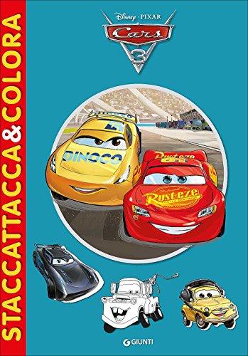 Cars 3. Staccattacca&colora. Con adesivi