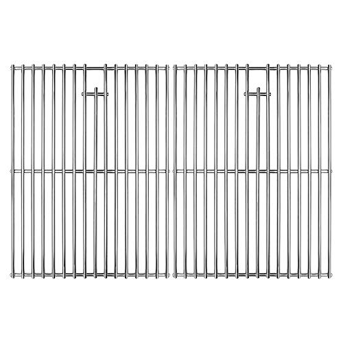 Uniflasy 17 Inches Cooking Grates for Home Depot Nexgrill 720-0830H 720-0830D, 720-0783E, 720-0783C Gas Grill Replacement Parts, Stainless Steel Uniflame Gas Grils Cooking Grids 2 Pack