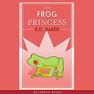 The Frog Princess audiobook cover art