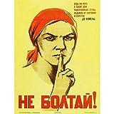 Wee Blue Coo War Propaganda Ww2 Soviet Union Gossip Vintage