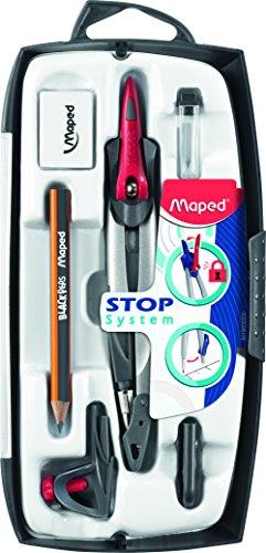 Maped Coffret compas 7 pièces (Import Royaume Uni)