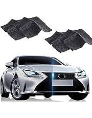 Nano Sparkle Doek Scratch Remover Doek Auto Paint Scratch Reparatie Nano Magic Cloth Auto Scratch Remover Doek Multipurpose Auto Scratch Repair Kit Voor Car Care Beauty (Size : 4 pcs)