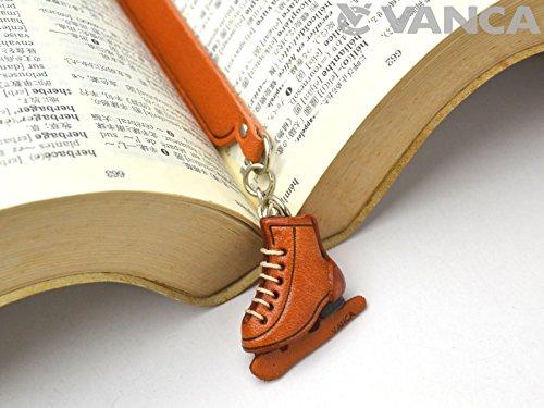 Skate Schuh Leder Charm Lesezeichen Vanca handgefertigt in Japan