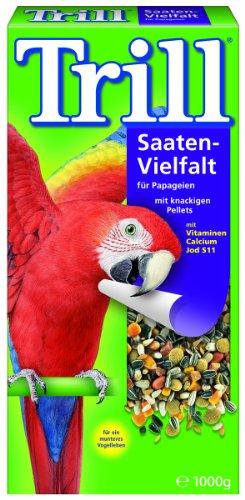 Trill Saaten-Vielfalt für Papageien, 2er Pack (2 x 1 kg)