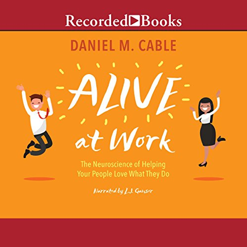 Alive at Work audiobook cover art