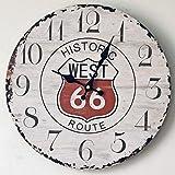 Brightz Reloj de Pared, Reloj Retro, Reloj de Pared for no marcando Horometer Decorativo Cocina Dormitorio Oficina Bar...