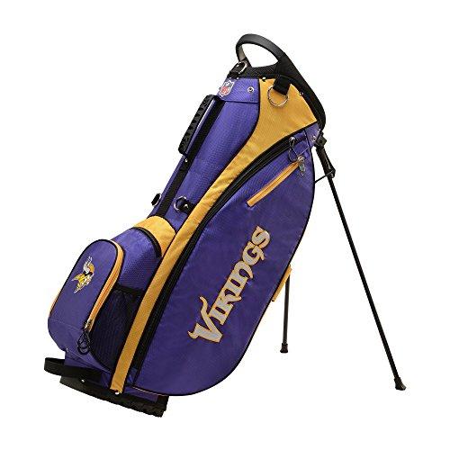Wilson 2018 NFL Carry Golf Bag, Minnesota Vikings, Purple/Gold