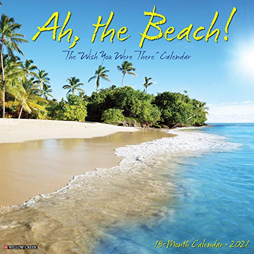 Ah The Beach! 2021 Wall Calendar