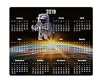 宇宙飛行士カレンダー2019コンピューターマウスパッド