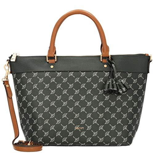 Joop! Damen Cortina Thoosa Handbag Lhz Henkeltasche, Grün (Darkgreen), 13.5x27x41 cm