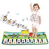 Tapis musical, BelleStyle Baby Musical Piano Tapis de jeu Tapis de jeu Musical Instrument Touch Jeu Clavier Gym Tapis de jeu pour...