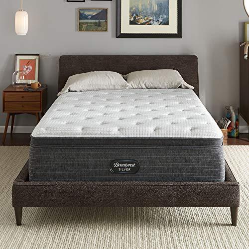 Beautyrest Silver BRS900-C 16 inch Plush Pillow Top Mattress, King, Mattress Only