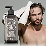 Beard Conditioner w/Argan & Jojoba Oils - Softens & Strengthens - Natural Peppermint and Eucalyptus Scent- Beard… 5