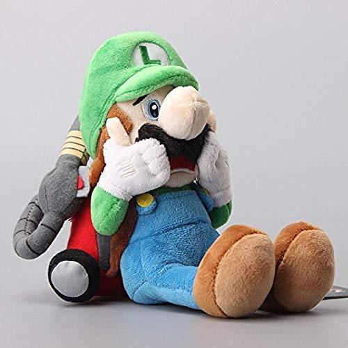 stogiit Werbeartikel Plüschtiere Luigi Mansion 2 Plüschpuppen 18 cm Kindergeschenk