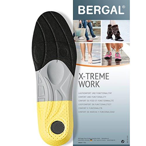 Bergal X-Treme Work - Einlegesohlen - anatomisch geformtes Fussbett Gr. 46