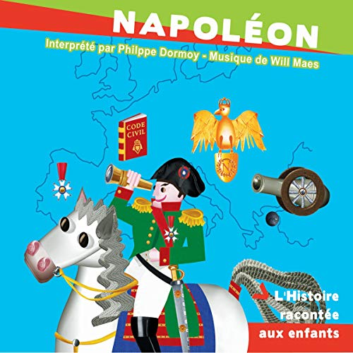 Napoléon audiobook cover art