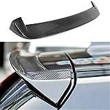 TGFOF Panel de ala de alerón trasero de carbono es adecuado para BMW 1 Series F20 F21 116i 118i 120i 125i M135i M140i 3Door 5 puertas Hatchback 2012-2018 Venta de fábrica CF Spoiler trasero Cubierta S
