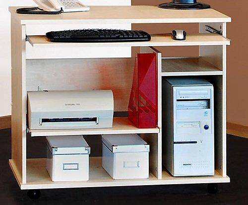 Schreibtisch Computertisch Ahorn Bürotisch PC-Tisch ahorn - (325)