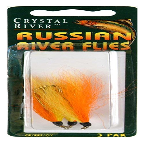South Bend CR/RRF/OY Russian River Fly Org/Yell 3Pk