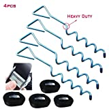 Trampoline Accessories Trampoline Stakes Trampoline Anchors Trampoline Stakes Anchors Stakes Heavy Duty Wind...