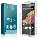IQ Shield Matte Full Body Skin Compatible with Sony Xperia Z5 Premium + Anti-Glare (Full Coverage) Screen Protector and Anti-Bubble Film