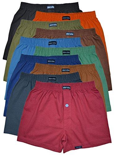 MioRalini 10 Boxershort Baumwolle Artikel: mit Eingriff Farbig, Groesse: XL-7