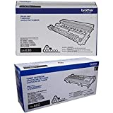 Brother TN660 (TN-660) High Yield Black Toner Cartridge and DR630 (DR-630) Imaging Drum Unit