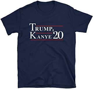 Donald Trump Kanye West 2020 Tshirt, Trump and Kanye for President '20 Shirt for Men and Women