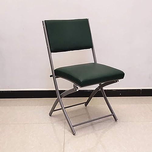 Chaise pliante en acier en métal de double de charnière articulée par triple attelé avec les sièges capitonnés d'unité centrale (Couleur   B)