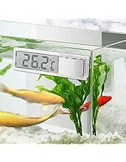 keyren Termómetro de Acuario práctico, termómetro de Acuario electrónico, para termómetro Corporal Interior