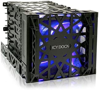 Icy Dock MB074SP-B Black Vortex Removable HDD 4 in 3 Module Cooler Cage